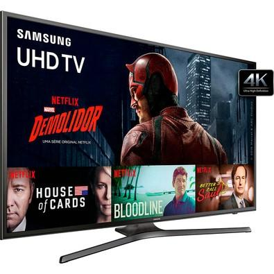 Smart TV Samsung 50´ 4K com HDMI, USB, Wi-Fi - 50KU6000