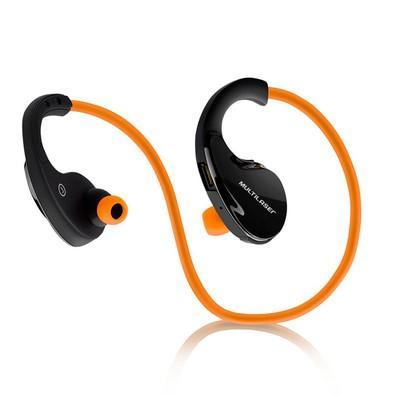 Fone de Ouvido Multilaser Bluetooth Laranja - PH185