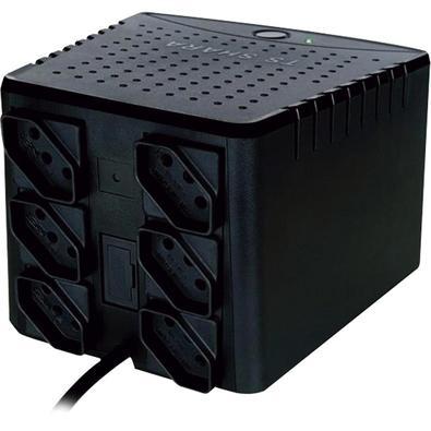 Estabilizador Eletrônico TS Shara Powerest ABS 700VA Bivolt 6 Tomadas 9005