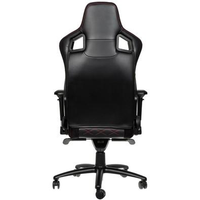 Cadeira Gamer Noblechairs EPIC, Black Red - NBL-PU-RED-002