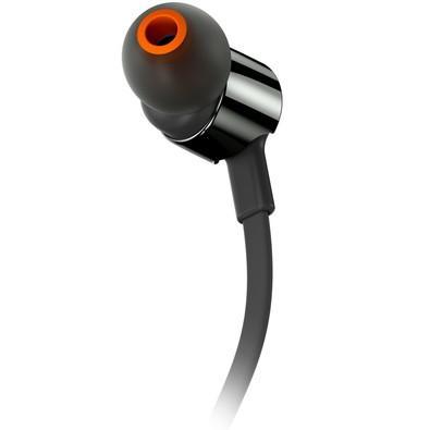 Fone de Ouvido Intra Auricular JBL T210 Preto
