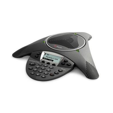 Telefone Polycom de Áudio Conferência IP6000 Expansível com Display SIP phone 2200-15600-001