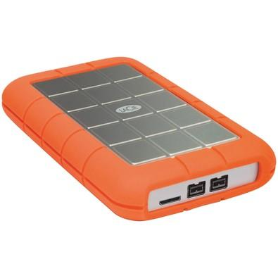 HD LaCie Externo Rugged Triple, 1TB, USB 3.0, Clay Orange - STEU1000400