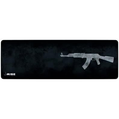 Mousepad Gamer Rise Mode AK47, Speed, Extra Grande (900x300mm) - RG-MP-06-AK