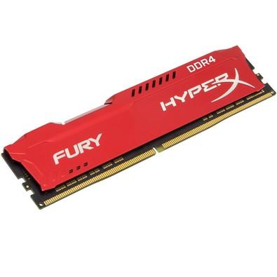 Memória Kingston HyperX FURY 16GB 2133Mhz DDR4 CL14 Red - HX421C14FR/16
