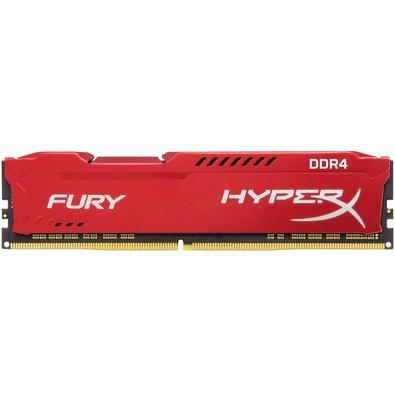 Memória Kingston HyperX FURY 32GB (2x16GB) 2133Mhz DDR4 CL14 Red -  HX421C14FRK2/32