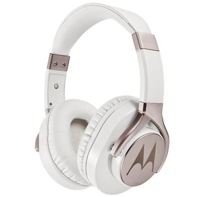 Headphone Motorola Pulse Max Winred Branco e Dourado