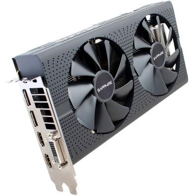 Placa de Video VGA AMD Sapphire RADEON RX 580 PULSE 4GB GDDR5 PCI-E Dual HDMI/DVI-D/Dual DP OC w/backplate - 11265-09-20G