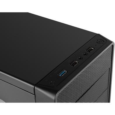 Gabinete NOX COOLBAY RX ATX, USB 3.0, 1 FAN Incluso, Preto - NXCBAYRX