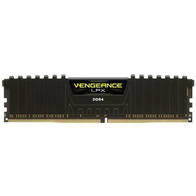 Memória Corsair Vengeance LPX, 4GB, 2400MHz, DDR4, CL16, Preto - CMK4GX4M1A2400C16