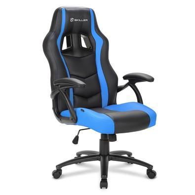 Cadeira Gamer Sharkoon Shark Skiller SGS1 Black Blue