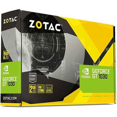 Placa de Vídeo VGA Zotac NVIDIA GeForce GT 1030 Mainstream 2GB, GDDR5, 64 Bits - ZT-P10300A-10L