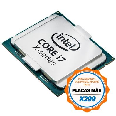 Processador Intel Core i7-7740X Kaby Lake, Cache 8MB, 4.3GHz (4.5GHz Max Turbo), LGA 2066 - BX80677I77740X