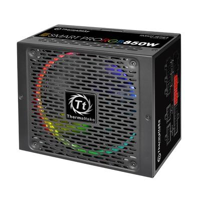 Fonte Thermaltake 850W 80 Plus Bronze Modular Smart Pro - PS-SPR-0850FPCBBZ-R
