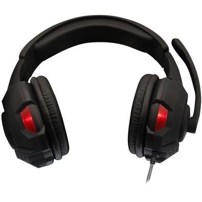 Headset Gamer Havit Preto e Vermelho - HV-H2213d
