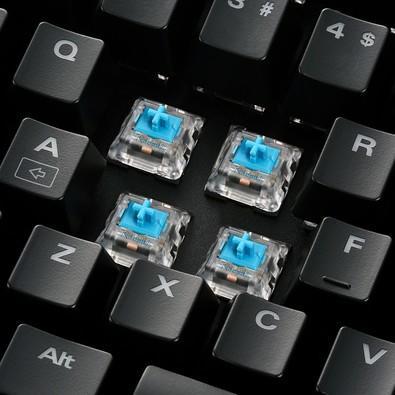 Teclado Mecânico Gamer Sharkoon Shark Skiller, RGB, Switch Kailh Blue, ABNT2 - SGK3