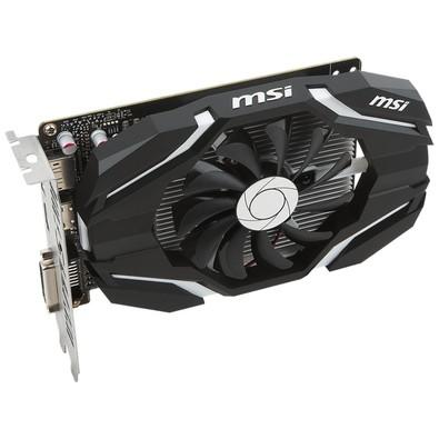 Placa de Vídeo MSI NVIDIA GeForce GTX 1050 Ti 4G OC, GDDR5