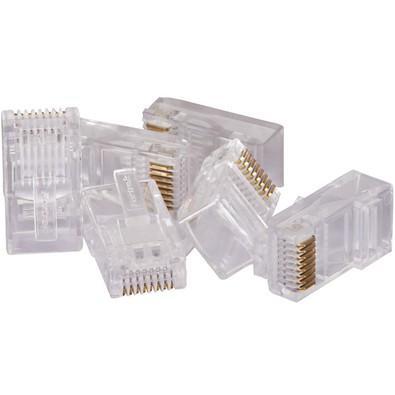 Conector Fortrek Macho CAT5E RJ45, Pacote com 100 - 62899