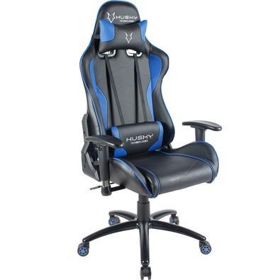 Cadeira Gamer Husky Storm Black Blue HST-BB