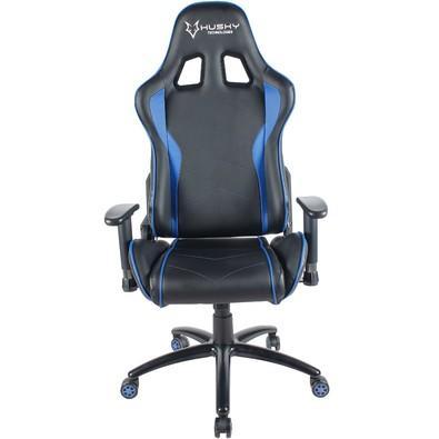 Cadeira Gamer Husky Storm, Black Blue - HST-BB