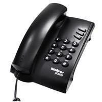Telefone Intelbras Com Chave De Bloqueio Pleno 4080057 Preto
