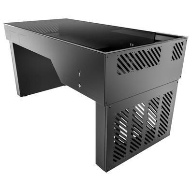 Mesa Gamer Hydra Desk 1.5m Aluminio E-ATX Mesa Case 8 mm Vidro Temperado