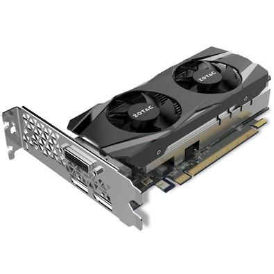 Placa de Vídeo Zotac NVIDIA GeForce GTX 1050 2GB, GDDR5 - ZT-P10500E-10L