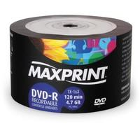 DVD-R Maxprint 4,7Gb com 50 unidades - 506066