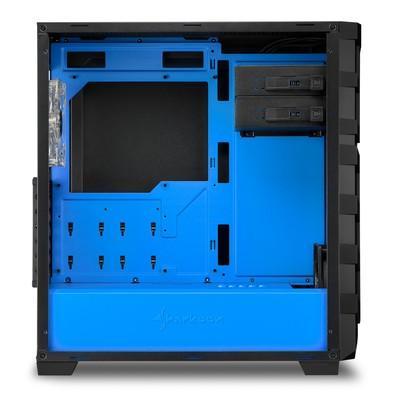 Gabinete Sharkoon SKILLER SGC1 Window - Blue