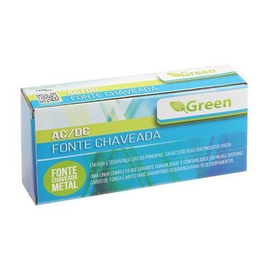 Fonte Chaveada Green 12V 10A 120W Bivolt - Gabinete Metálico 044-0120