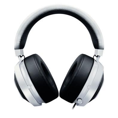 Headset Gamer Razer Kraken Pro V2 Branco Oval com Microfone - P2 -  RZ04-02050500-R3U1