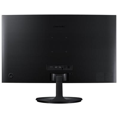 Monitor Samsung LED 24´ Widescreen Curvo, Full HD, HDMI/VGA, FreeSync - LC24F390FHLMZD