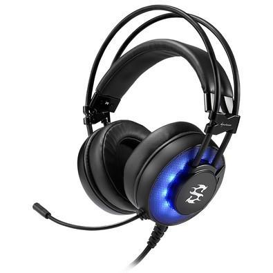 Headset Gamer Sharkoon SGH2 Led Azul USB