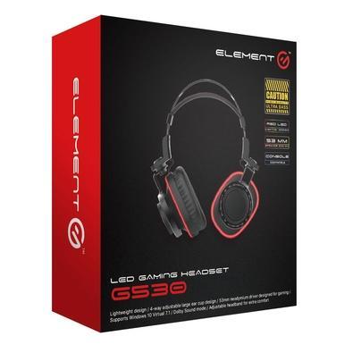 Headphone Gamer Element G Single Color, P2 - G530