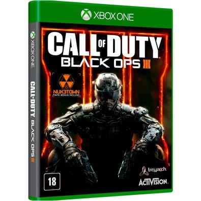 Game Call Of Duty Black Ops III + Nuk3Town Map Xbox One