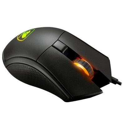Mouse Gamer Cougar 12000DPI 6 Botões RGB Preto Revenger S