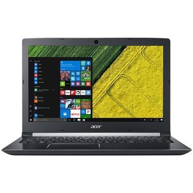 Notebook Acer i5-7200U, 8GB, 1TB, Windows 10 Home, Cinza, 15,6´ - A515-51-51UX
