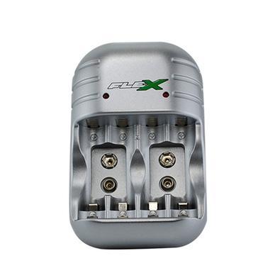 Carregador de Pilhas e Bateria FlexGold FX-C03 Bivolt 7220