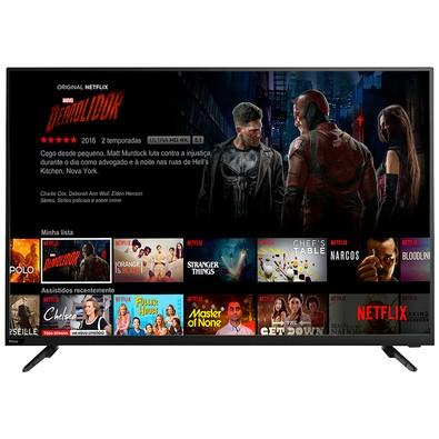 Smart TV LED 50´ UHD 4K Philco, Conversor Digital, 3 HDMI, USB, Wi-Fi, HDR - PTV50F60SN