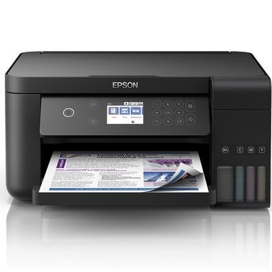 Multifuncional Epson EcoTank L6161, Jato de Tinta, Colorida, Wi-Fi, Bivolt - C11CG21302