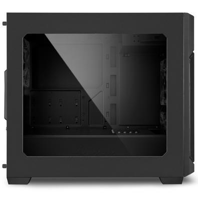 Gabinete Sharkoon V1000 Micro-ATX com Janela Lateral em Acrílico