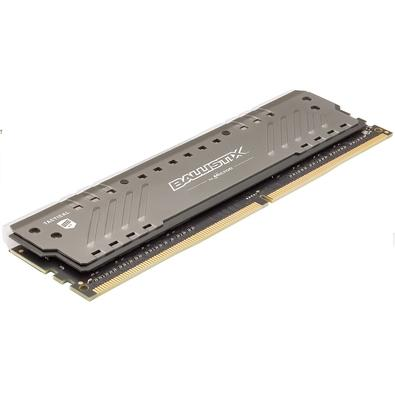 Memória Crucial Ballistix Tactical Tracer, RGB, 32GB (2x16GB), 3000MHz, DDR4, CL16, Cinza - BLT2K16G4D30BET4