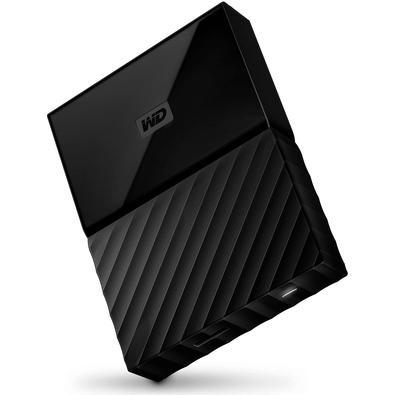 HD WD Externo Portátil My Passport para MAC, USB 3.0, 2TB, Preto - WDBLPG0020BBK