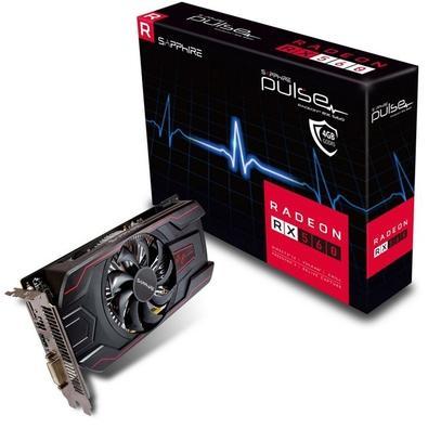 Placa de Vídeo Sapphire AMD Radeon RX 560 Pulse 4G, GDDR5 - 11267-18-20G