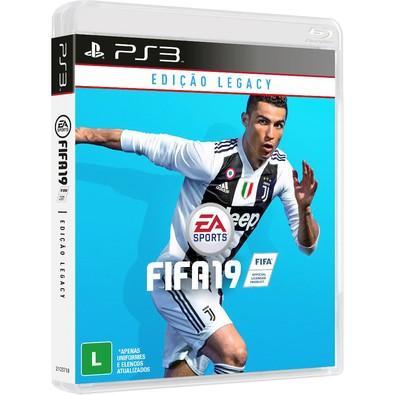 Game FIFA 19 Edição Legacy PS3