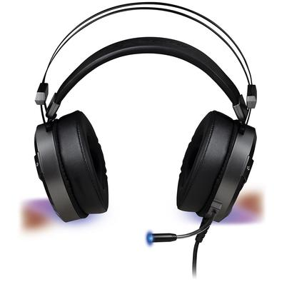 Headset Gamer Fortrek H1 Plus 7.1, USB, Cinza - G Pro
