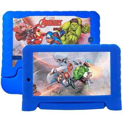 Tablet Multilaser Marvel Vingadores Plus, 8GB, Quad Core, Android 7, Wi-Fi, Tela 7´, Azul - NB280