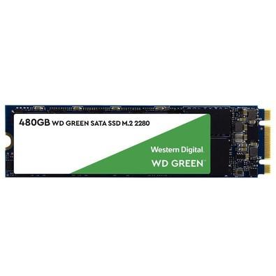 SSD WD Green, 480GB, M.2, Leitura 545MB/s - WDS480G2G0B