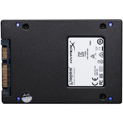 SSD HyperX Fury RGB, 240GB, SATA, Leitura 550MB/s, Gravação 480MB/s - SHFR200/240G