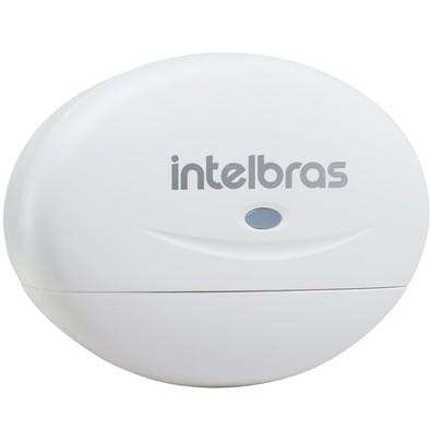 Sensor de Abertura Intelbras Sem Fio iS3 Branco